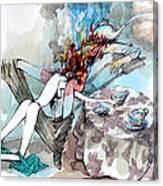 Five O'clock Tea Canvas Print