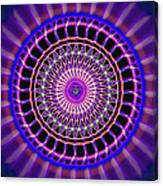 Five Star Gateway Kaleidoscope Canvas Print