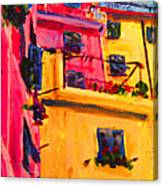 Five Terra Italy Canvas Print