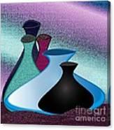 Five Vases Canvas Print
