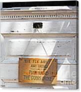 Fix It Shop Canvas Print