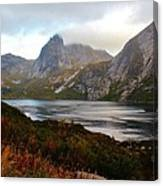 Fjordland Autumn Canvas Print
