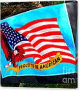 Flag Day Canvas Print