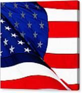 Flag Mirror Canvas Print