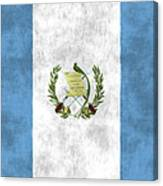 Flag Of Guatamala Canvas Print