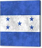 Flag Of Honduras Canvas Print