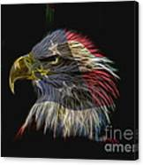 Flag Of Honor Canvas Print