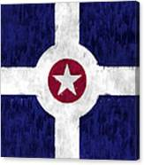 Flag Of Indianapolis Canvas Print