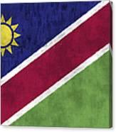 Flag Of Namibia Canvas Print
