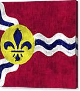 Flag Of St.louis Canvas Print