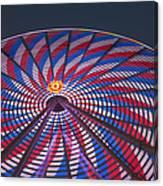 Flag Wheel Canvas Print