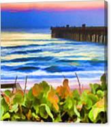 Flagler Beach Beautiful Canvas Print