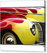 Flamed Ford Canvas Print