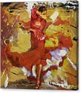 Flamenco 44 Canvas Print