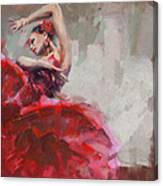Flamenco 53 Canvas Print