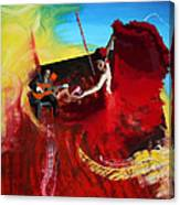 Flamenco Dancer 016 Canvas Print