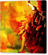 Flamenco Dancer 026 Canvas Print