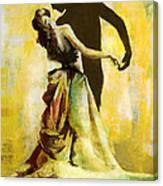Flamenco Dancer 031 Canvas Print