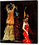 Flamenco Series #6 Canvas Print