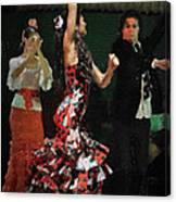 Flamenco Series No 13 Canvas Print