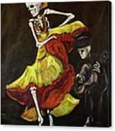 Flamenco Vi Canvas Print