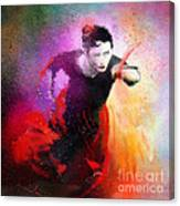 Flamencoscape 03 Canvas Print