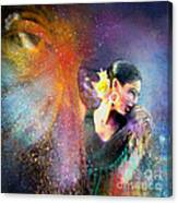 Flamencoscape 04 Canvas Print