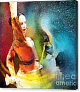 Flamencoscape 08 Canvas Print