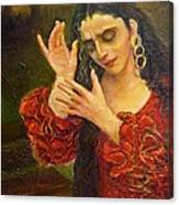 Flamenfo Girl 2 Canvas Print