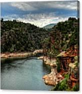Flaming Gorge - Cart Creek 002 Canvas Print