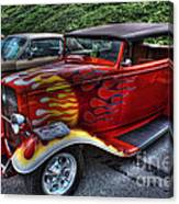 Flaming Rod Canvas Print