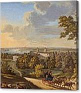 Flamstead Hill, Greenwich The Canvas Print