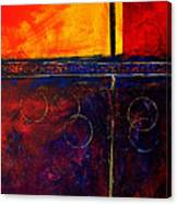 Flash Abstract Painting Canvas Print