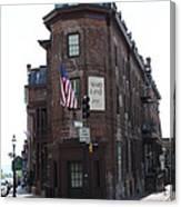 Flat Iron Annapolis - Maryland Inn Canvas Print