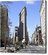 Flat Iron Building-4 Canvas Print