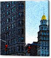 Flat Iron Nyc Canvas Print