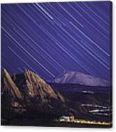 Flat Lined Canvas Print