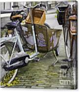 Flat Tire Canvas Print