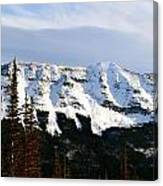 Flat Top Mountain Canvas Print