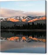 Flathead River Canvas Print