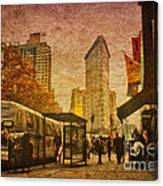 Flatiron Building New York Canvas Print