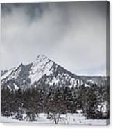 Flatiron Winter Canvas Print
