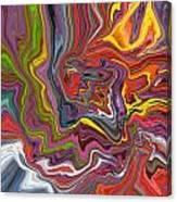 Flatulent Walrus Canvas Print