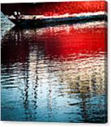 Red Boat Serenity Canvas Print