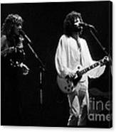 Fleetwood Mac In Amsterdam 1977 Canvas Print