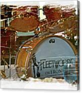 Fleetwood's Drums Canvas Print