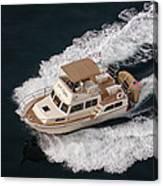 Fleming Yacht's Corvette Canvas Print