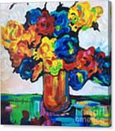 Fleurs De Vigne Canvas Print