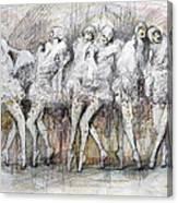 Flight Dancers Canvas Print