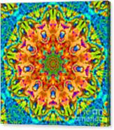 Flight Mandala Canvas Print